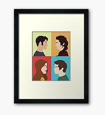 Scott, Allison, Lydia + Stiles Framed Print