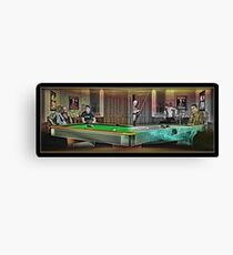 Hustlers - Mosconi Canvas Print
