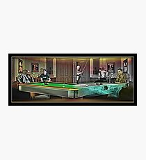 Hustlers - Mosconi Photographic Print