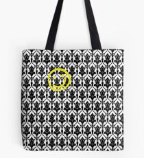 Sherlock Wallpaper Design Tote Bag