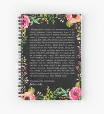 Something For Jehovah To Do Spiral Notebook