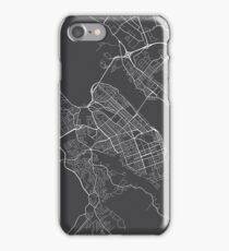 Halifax Map, Canada - Gray iPhone Case/Skin
