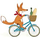 Picnic time Mr Fox by SmeeDesigns