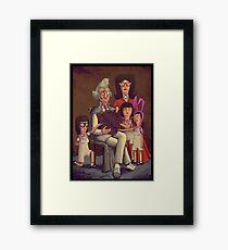 Fischoeder Family Portrait Framed Print