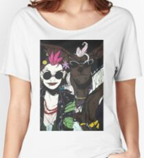 Tank Girl and Booga Women's Relaxed Fit T-Shirt