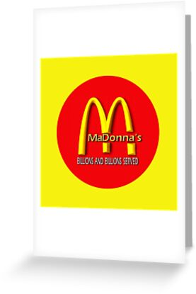madonna's  (mcDonalds) by geot