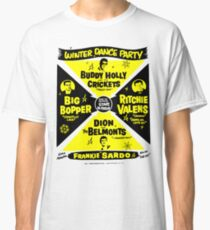Buddy Holly's Winter Dance Party Classic T-Shirt