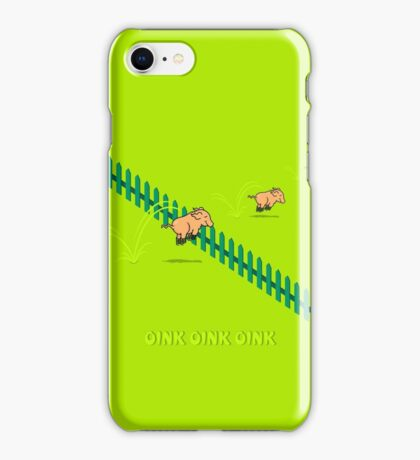 Jumping Pigs VRS2 iPhone Case/Skin