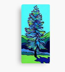 Coloured Tree Canvas Print