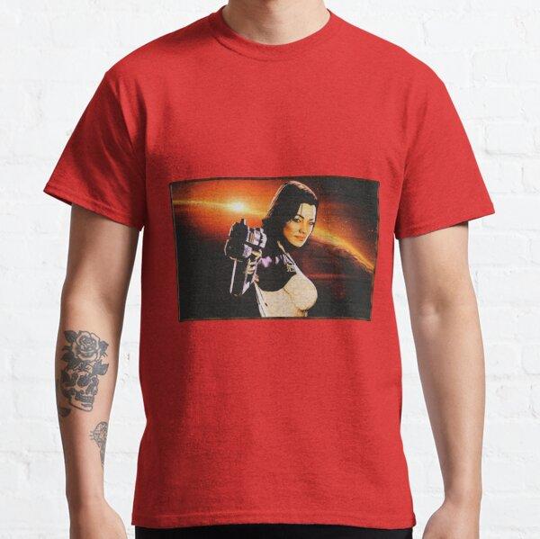 Mass Effect: Miranda Lawson Digital Wood Painting Classic T-Shirt