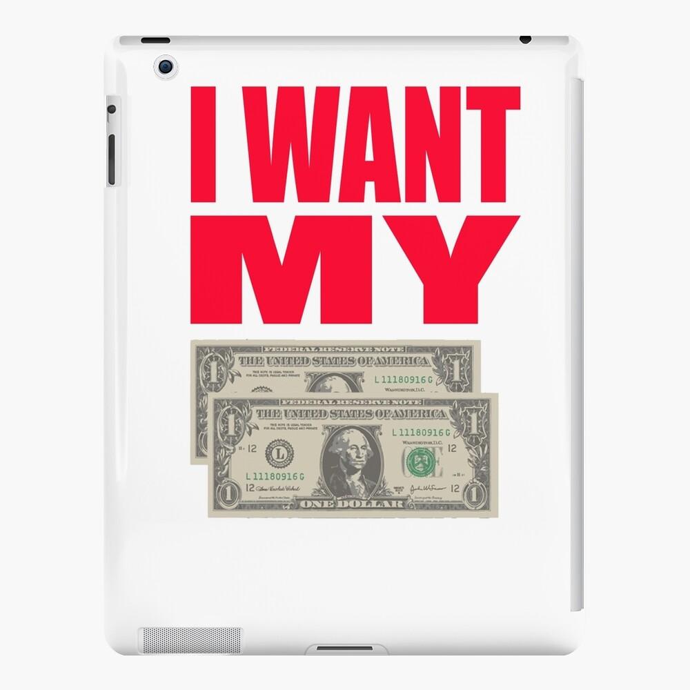 Besser weg vom toten Zitat - ich will meine zwei Dollar iPad-Hülle & Skin