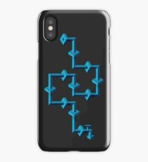 ice pipe line iPhone Case