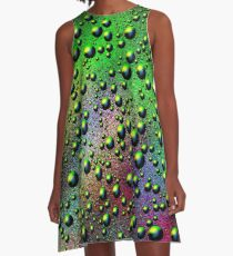 Colour Fizz Design A-Line Dress