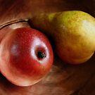 Pears Again in a Copper Bowl by LouiseK