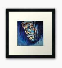 Black Jesus I Framed Print