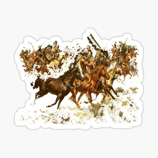 CRAZY HORSE GUY Herd Vinyl Decal Sticker E