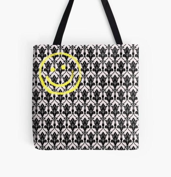 Sherlock Wallpaper All Over Print Tote Bag