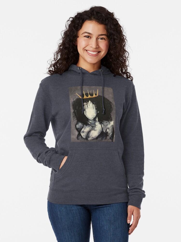Vista alternativa de Sudadera ligera con capucha Chica de ensueño