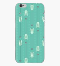Arrows_Turquoise iPhone Case