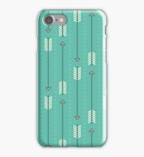 Arrows_Turquoise iPhone Case/Skin