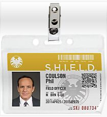 Coulson Badge Poster