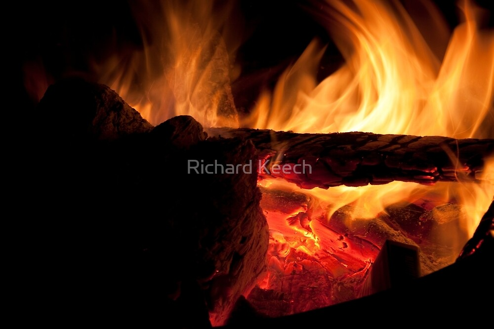 Burn! baby Burn! by Richard Keech
