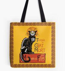 La Chat Mort Tote Bag