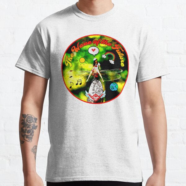 The Wave of the Future, pattern for children Classic T-Shirt