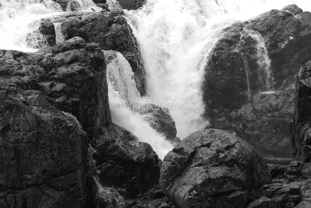 Englishman River Falls, British Columbia by Kris  Kennedy