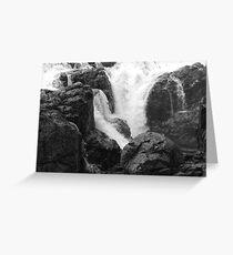 Englishman River Falls, British Columbia Greeting Card