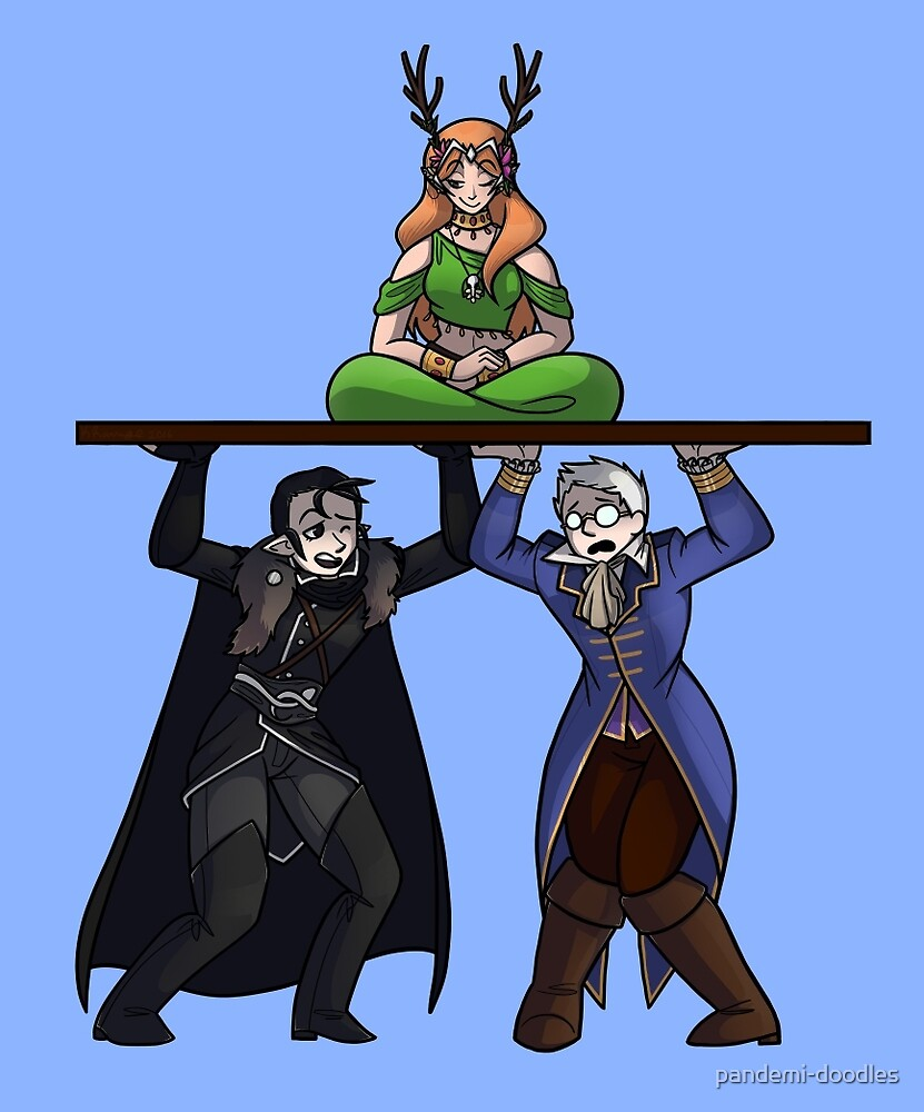 Vax Percy And Keyleth By Pandemi Doodles Redbubble ➸keyleth has many different spells at her disposal. redbubble