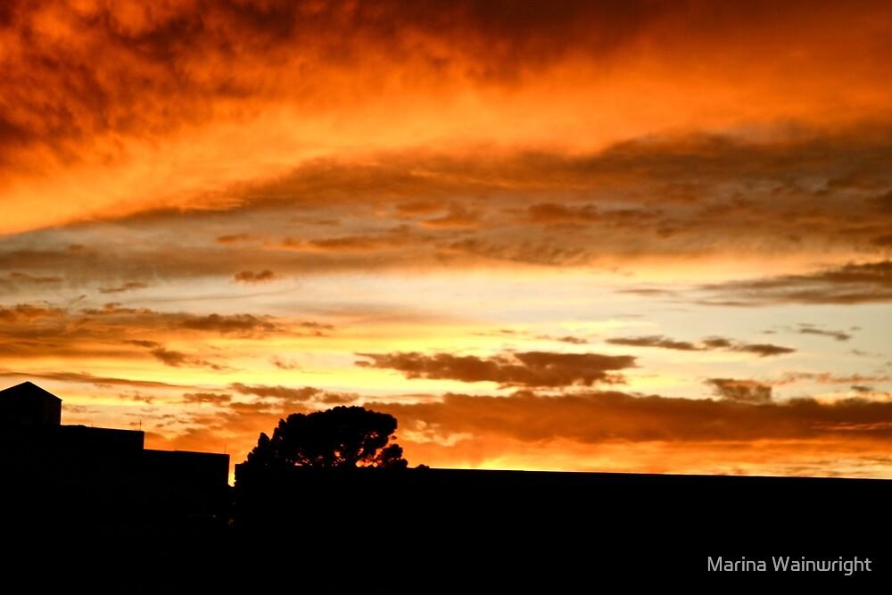 Sunset by Marina Wainwright