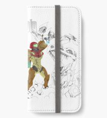 METROID iPhone Wallet/Case/Skin