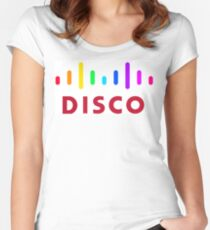 Disco (Cisco Parody) Women's Fitted Scoop T-Shirt