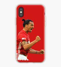Vinilo o funda para iPhone Zlatan Ibrahimovic Manchester United (camiseta, caja del teléfono y más)