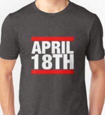 Jim Jefferies April 18th Shirt Slim Fit T-Shirt