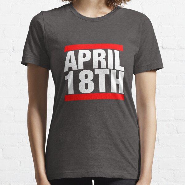Jim Jefferies April 18th Shirt Essential T-Shirt