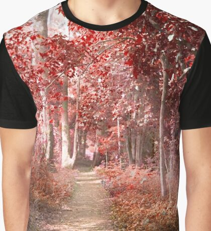 Autumn in a surreal place Graphic T-Shirt