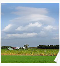 Impending storm-Hokkaido, Japan Poster