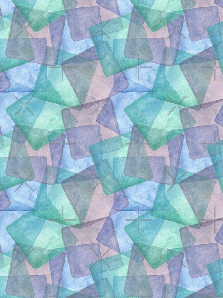 Aquarell Pastell Eiswürfel von brainbubbles