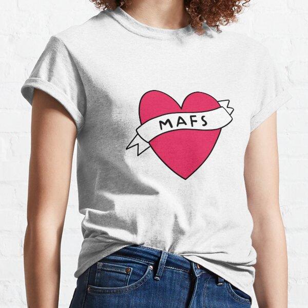 I Love MAFS Sticker . Classic T-Shirt