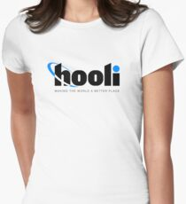 Silicon Valley - Hooli Womens Fitted T-Shirt