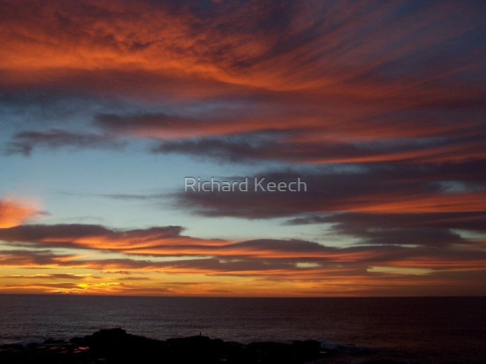 Sunrise By the Sea by Richard Keech