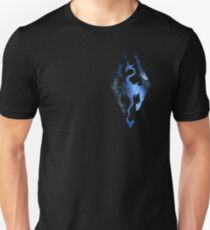 Skyrim Logo - Magic T-Shirt