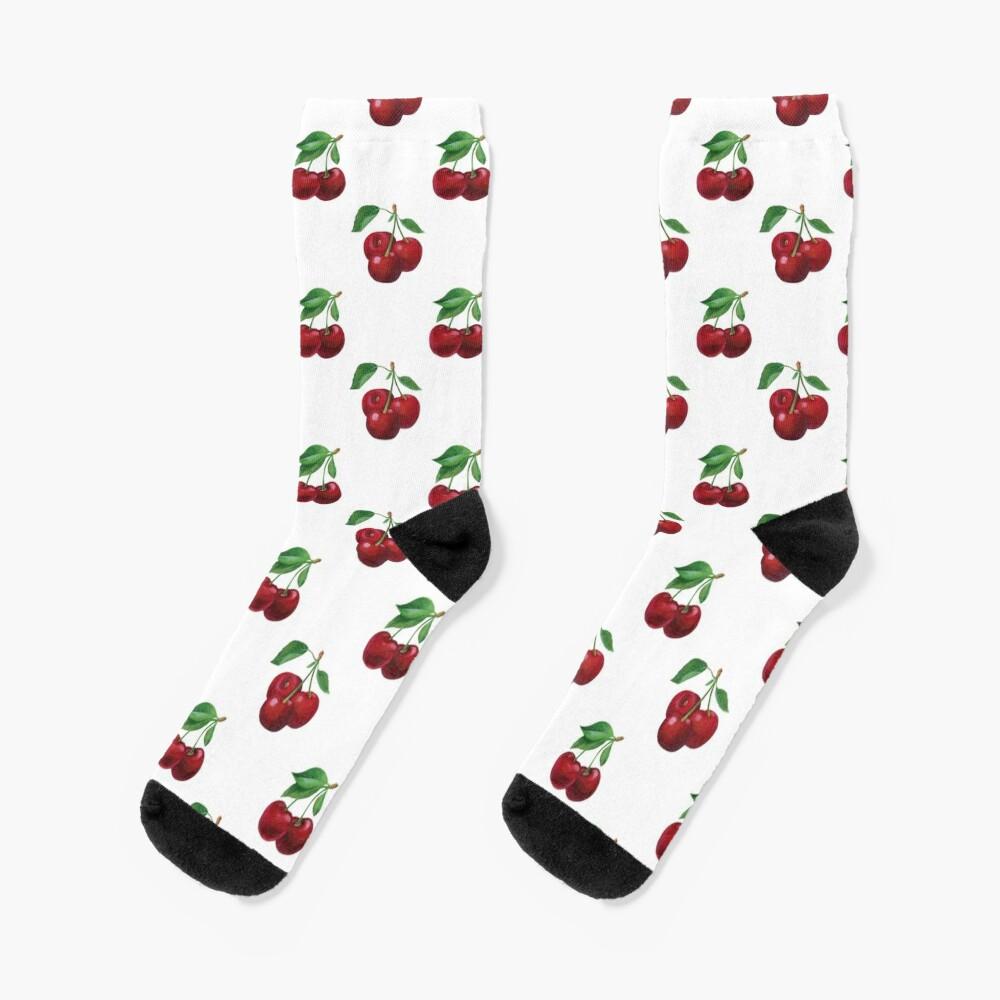 Sommerkirsche Socken