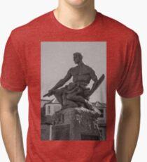 Statue Tri-blend T-Shirt
