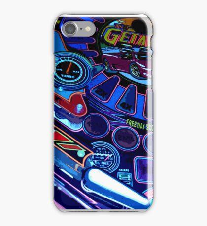 pinball fade iPhone Case/Skin