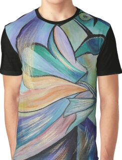 Middle Eastern Belly Dance With Pastel Veils Graphic T-Shirt