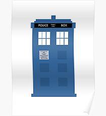 TARDIS - Doctor Who - Police Box Poster