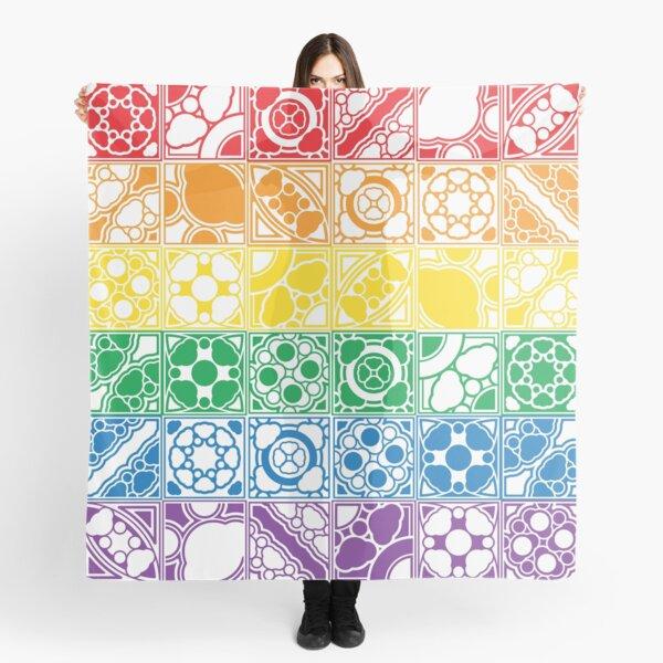 Rainbow Tiles Scarf